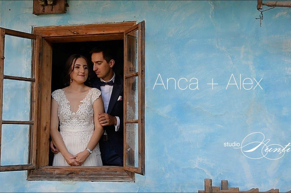 Filmul nunții Anca si Alex. Cluj & Feldru